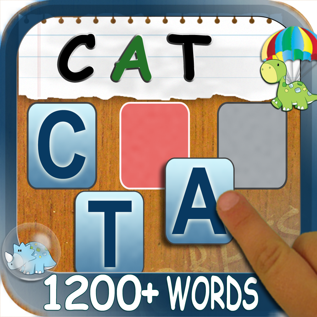 Build A Word: Easy Spelling – Learn to Spell Sight Words…