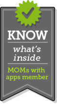 When you see the KNOW what's inside logo, it is a signal to parents that the app maker takes your privacy seriously.