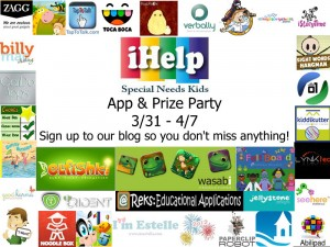 iHelp SN Kids App&Prize Party