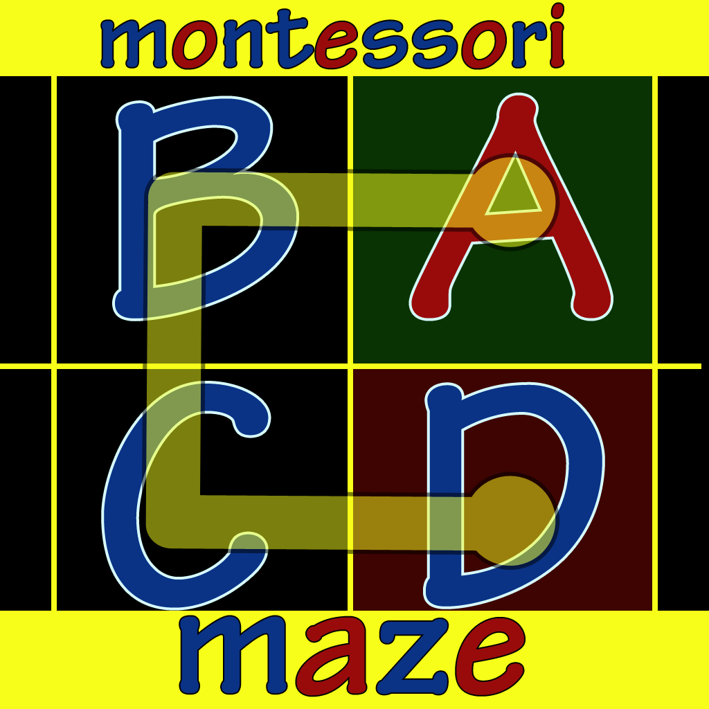 Montessori Alphabet Maze Apps