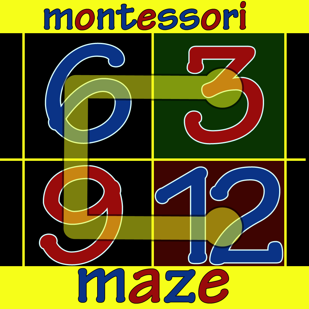 Montessori Numbers Maze Apps