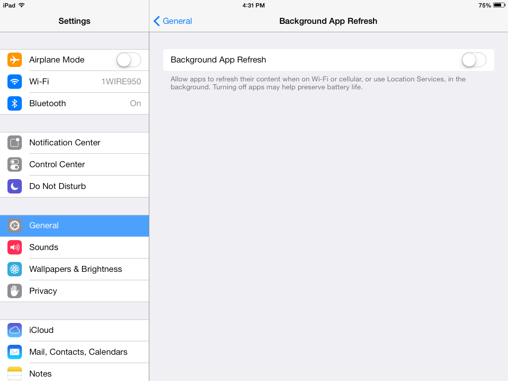 4 Steps To Extend Battery Life On Apple iOS 7 Device
