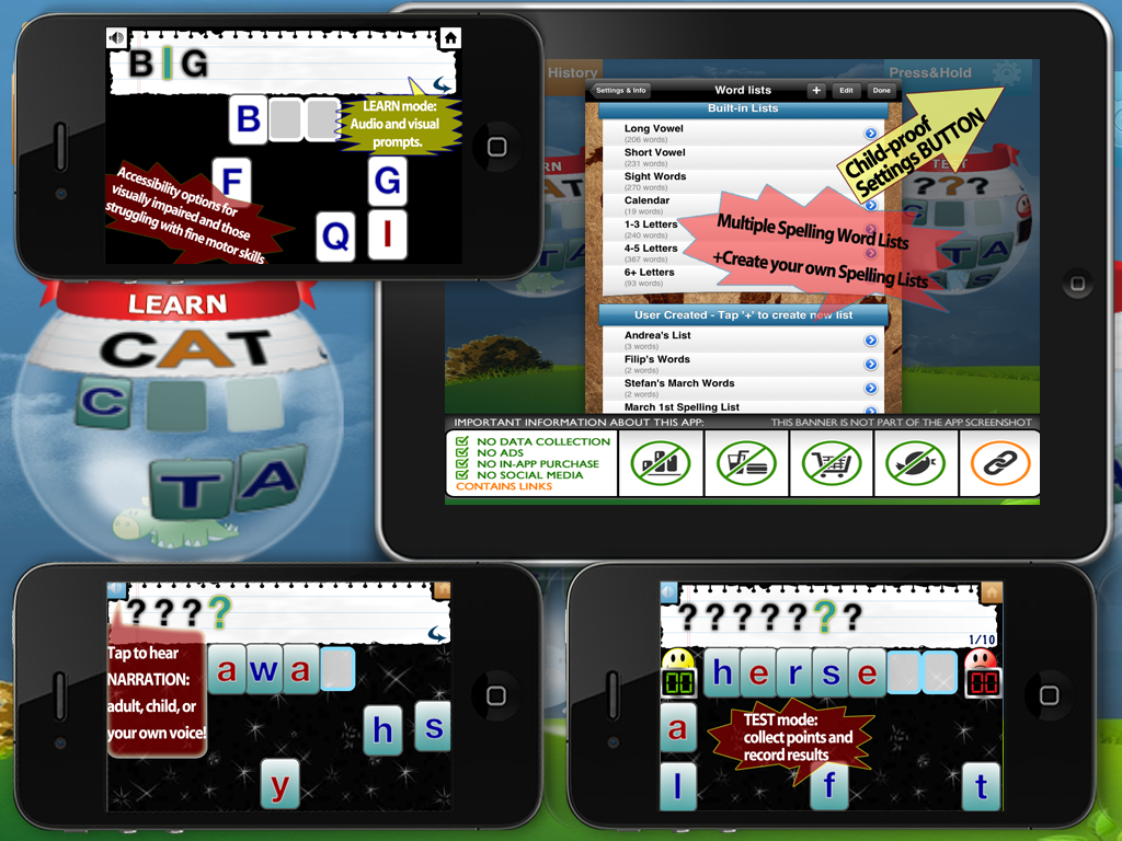 Educational Spelling Apps in Classroom