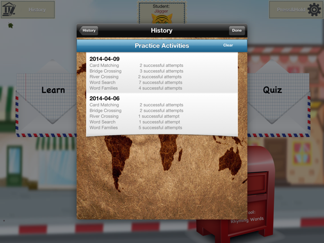 School Tool - History Practice