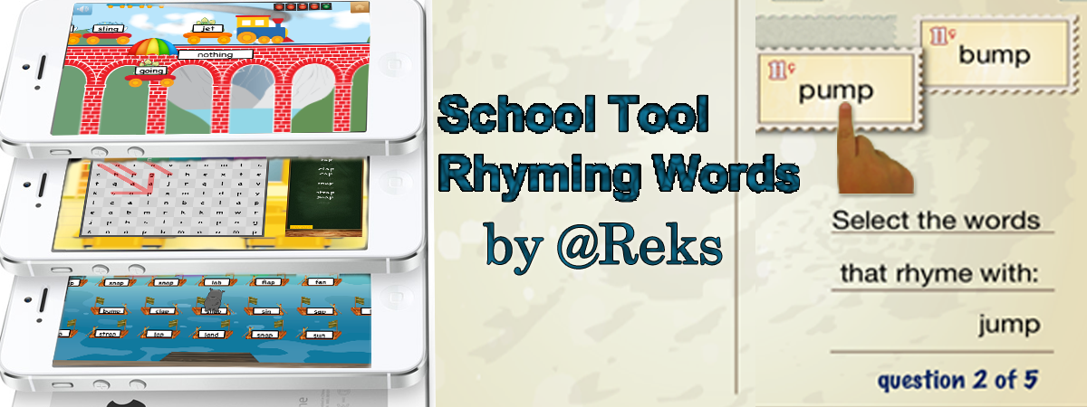 How To Use School Tool Rhyming Words App In Classroom