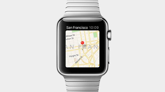 Apple Watch Map