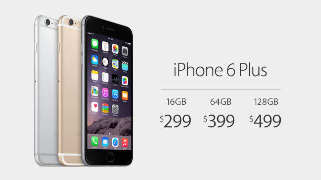 iPhone6 Plus Price