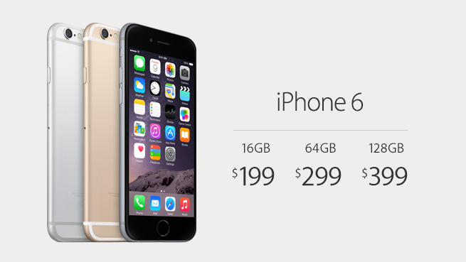iPhone6 Price