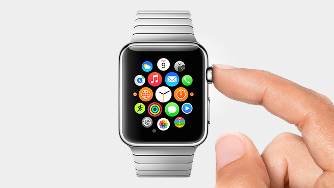 Apple Watch – Digital Crown!