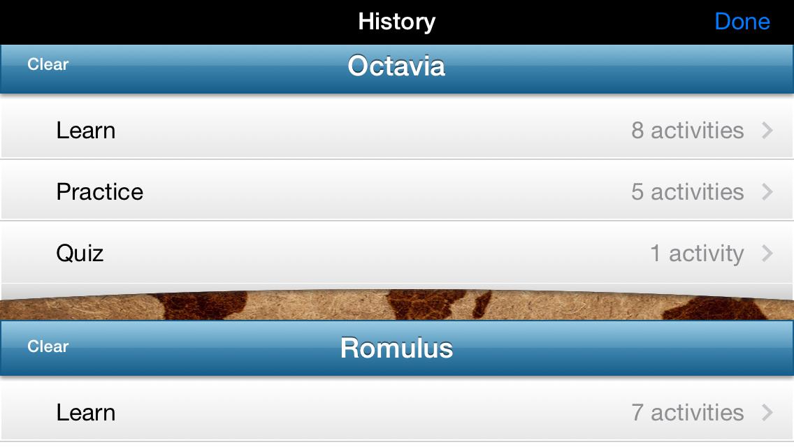 Lingua Latina HISTORY