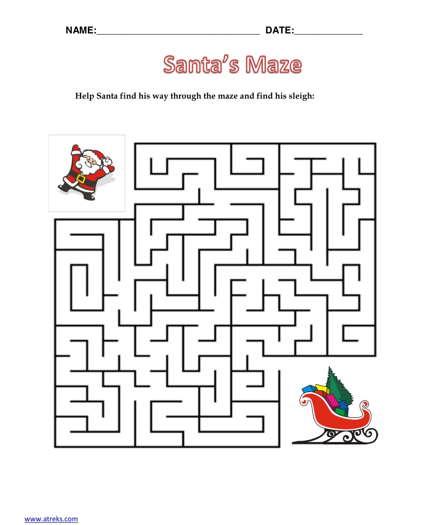 Santa's Maze