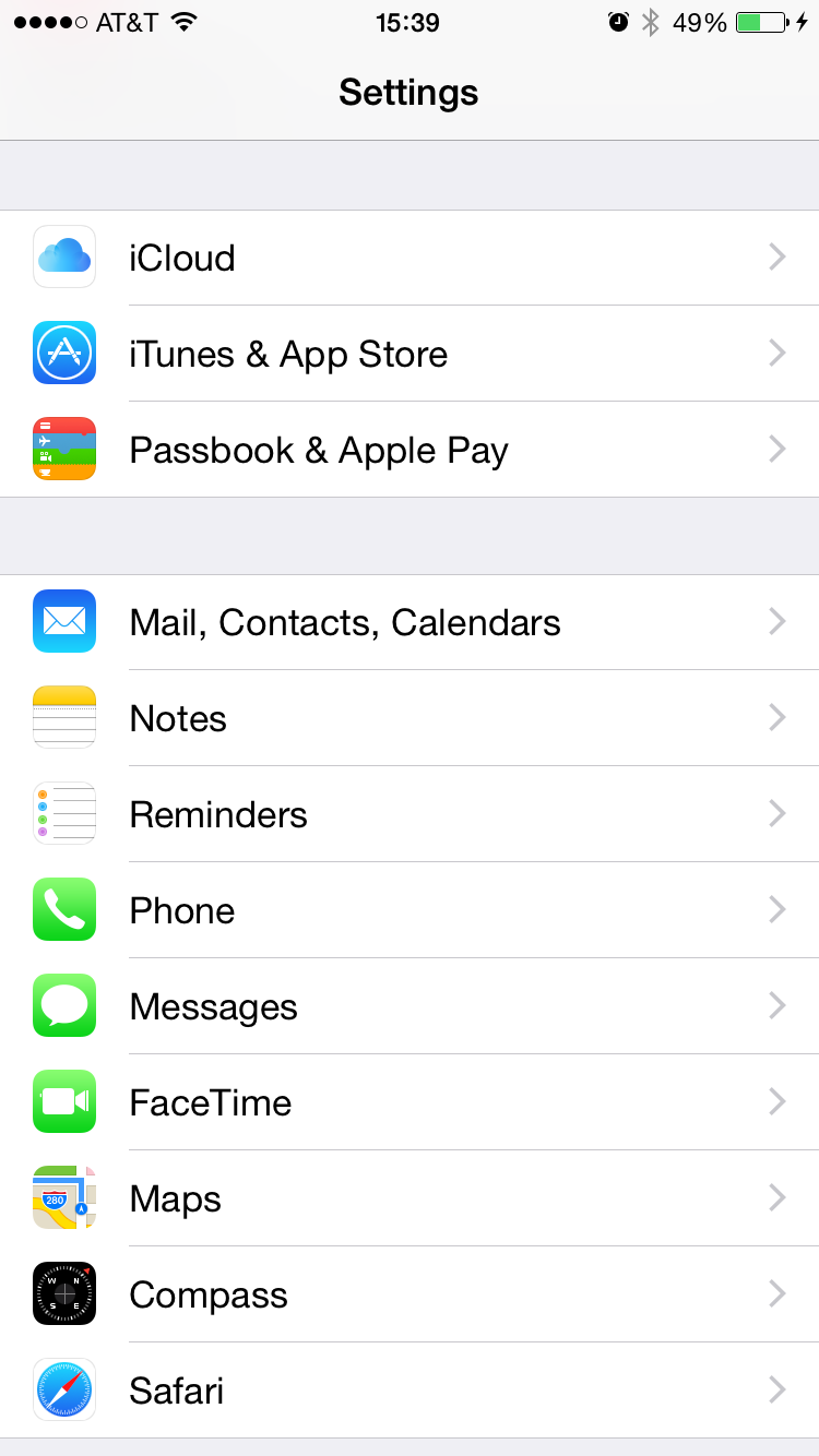 Where can I find e-mail setup instructions for my new iPhone?