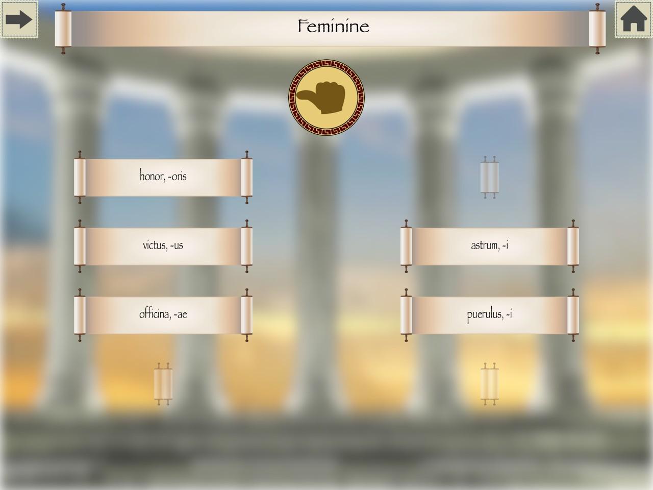 Lingua Latina: Nouns - PRACTICE 3